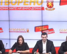 ЕКОНОМИЈАТА ПРОПАЃА СЕКОГАШ КОГА СДС Е НА ВЛАСТ: Трибина на Комисијта за финансиски и монетарни прашања на ВМРО-ДПМНЕ