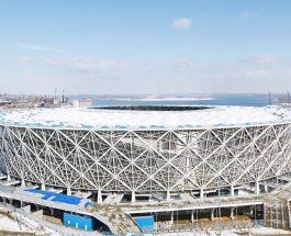 """СЕ БЛИЖИ МУНДИЈАЛОТ: Отворена """"Волгоград арена"""" во Русија во пресрет на Светското првенство во фудбал!"""
