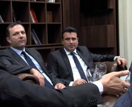 ЗАЕВ НА СРЕДБА СО АЛБАНСКОТО ПОДЗЕМЈЕ: Заев на тајна средба со албанското подземје, бара заштита за спроведување на Тиранската платформа !